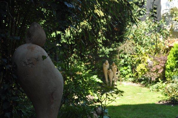 Dans le jardin du sculpteur à Charenton