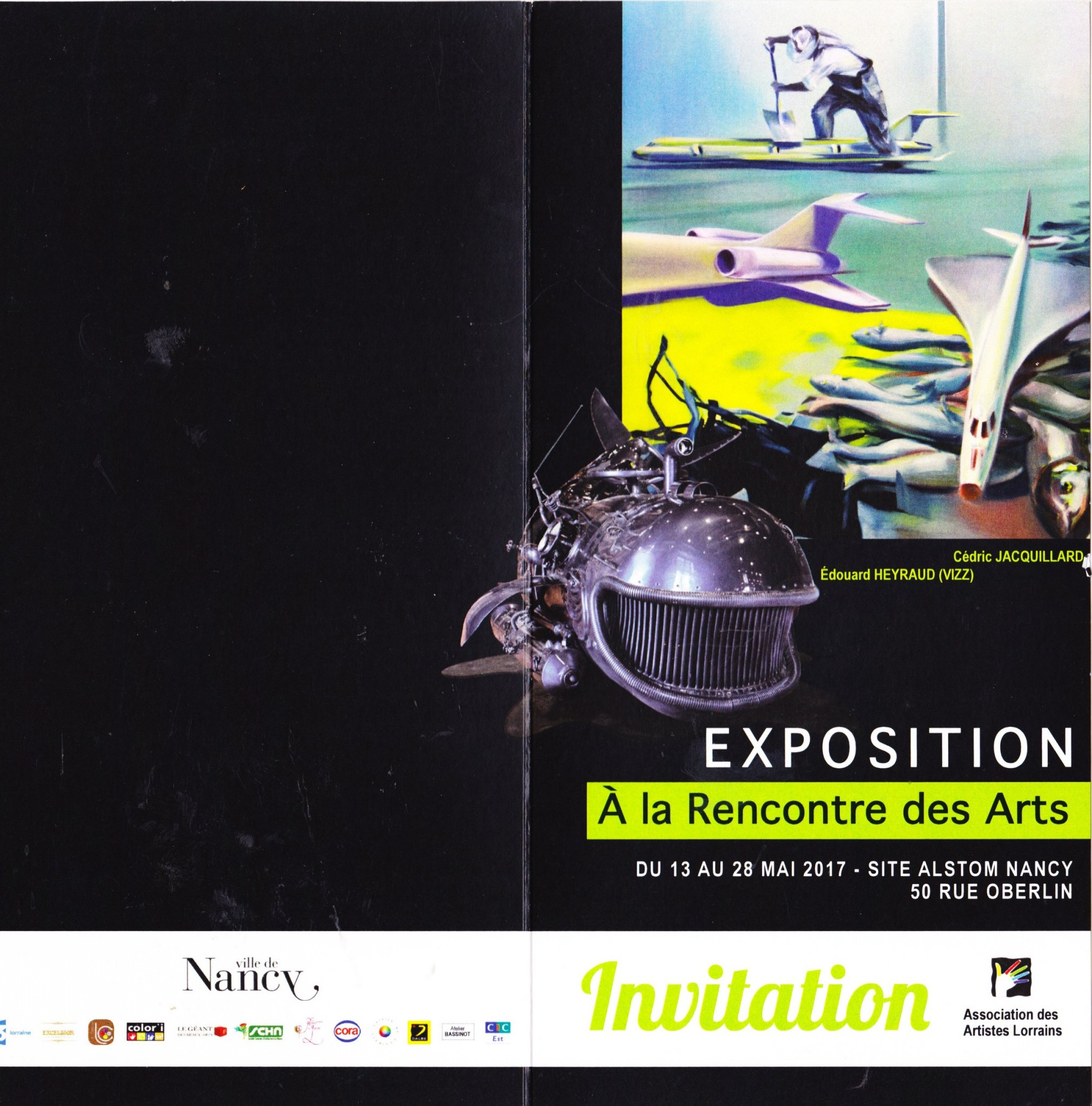 124 ème Salon des Arts de l'Association des artistes lorrains à NANCY