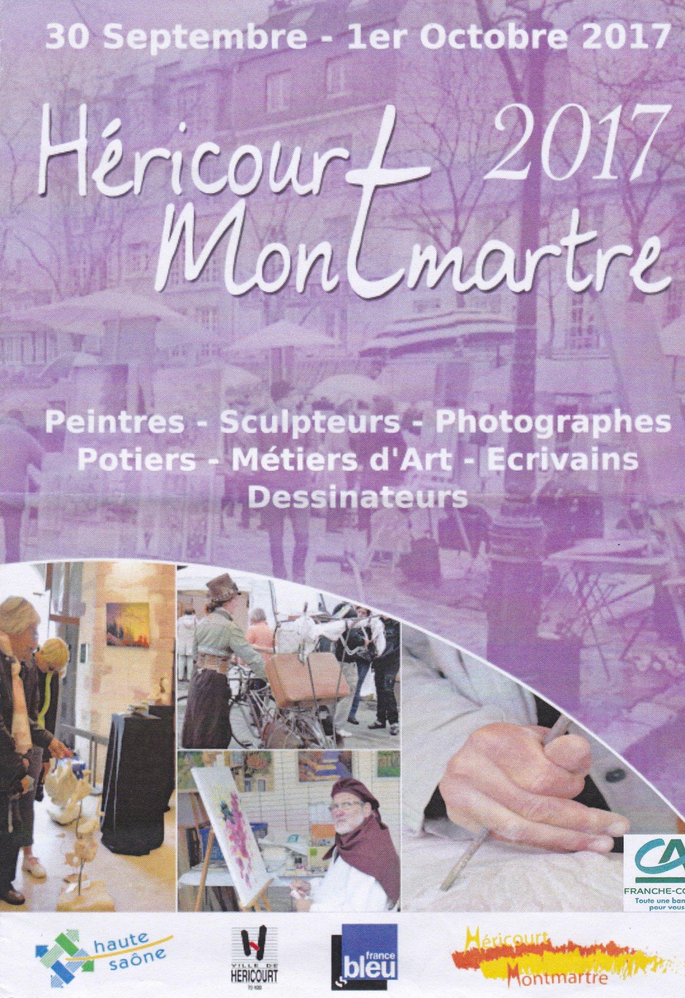 Exposition hericourt montmartre