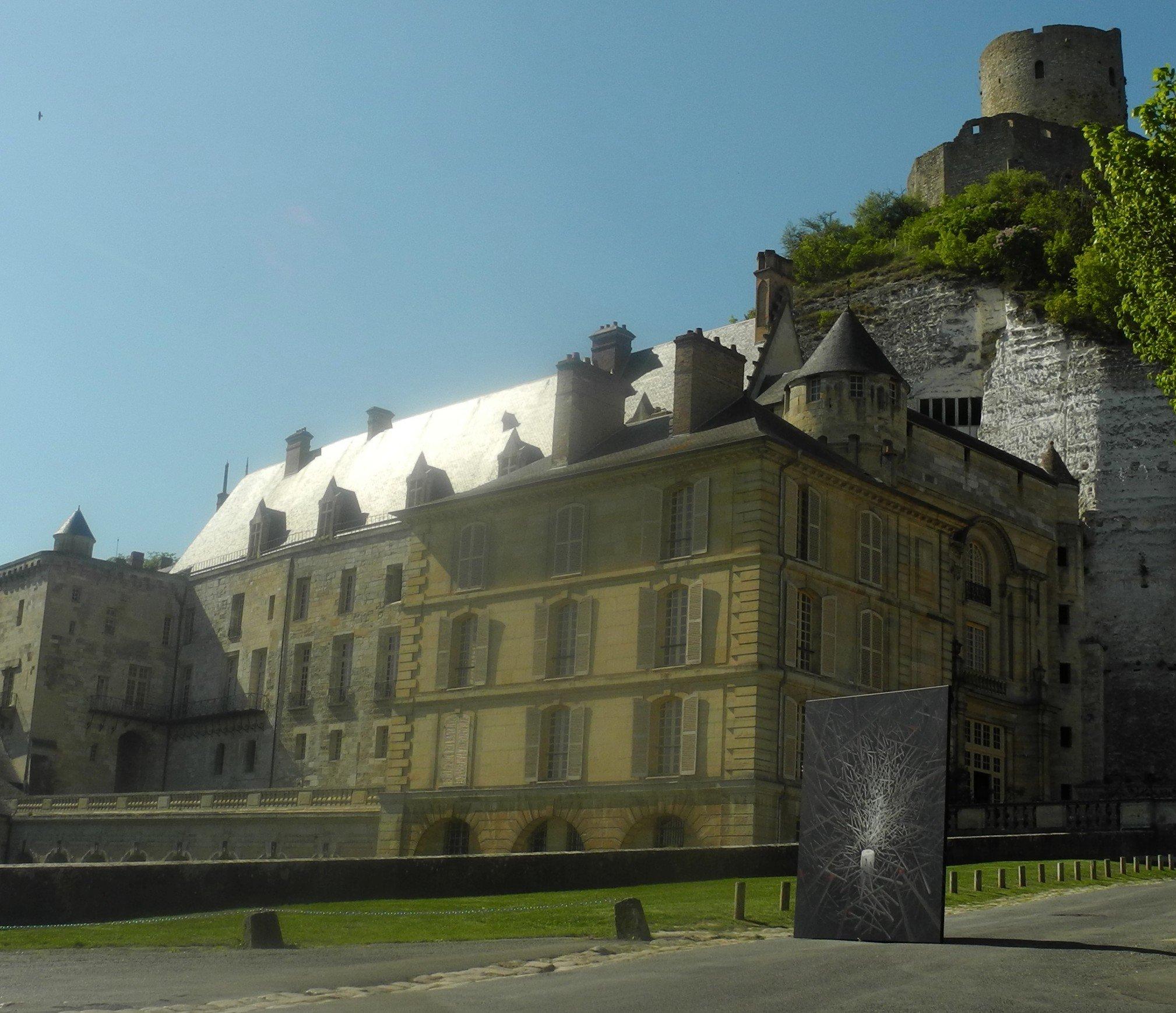 La lumière au Château de La Roche-Guyon