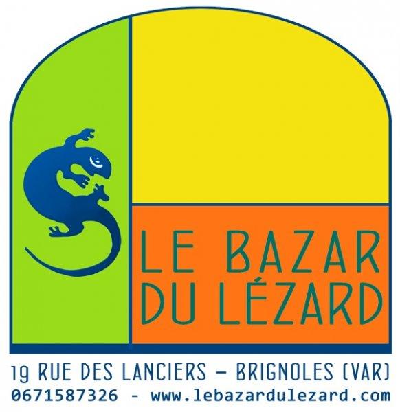 Logo de la galerie Bazar du Lézard de Brignoles (Var)