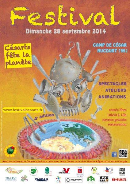 Affiche Festival Cesarts 2014