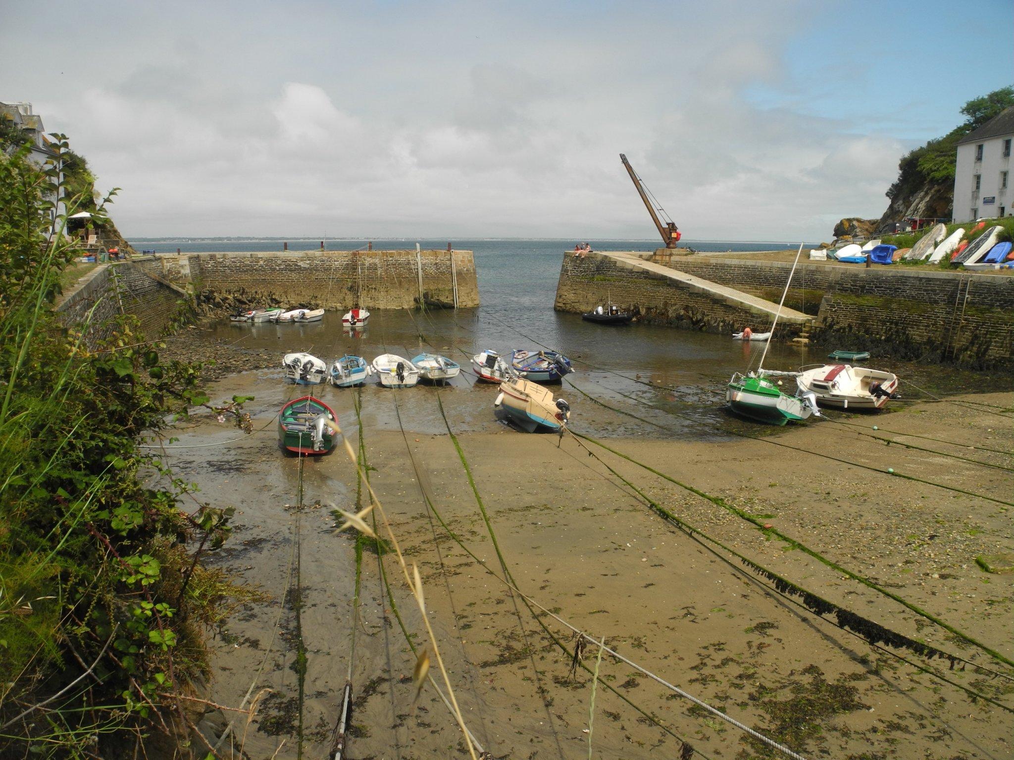 Port Lay, évier se vidant