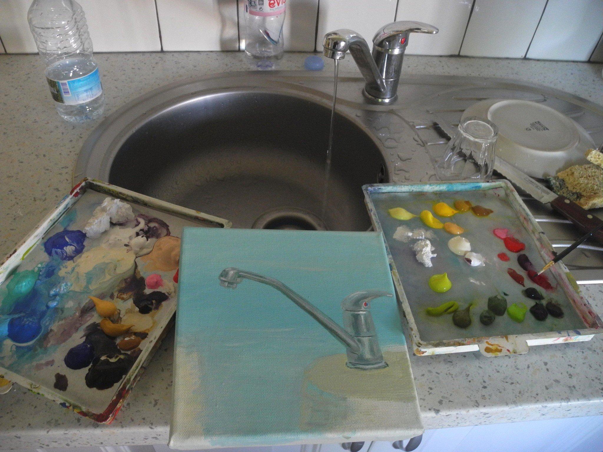 Pour équiper l'évier de Port Lay