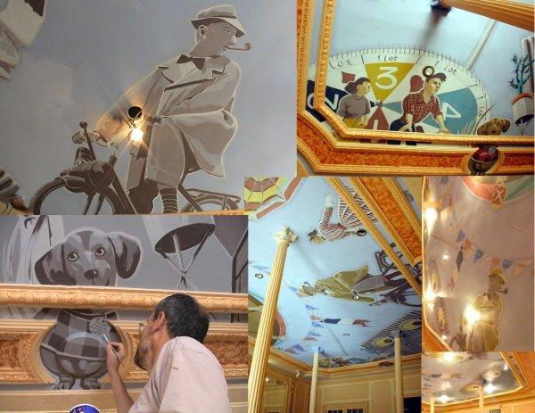 Certains accessoires des films Jacques Tati