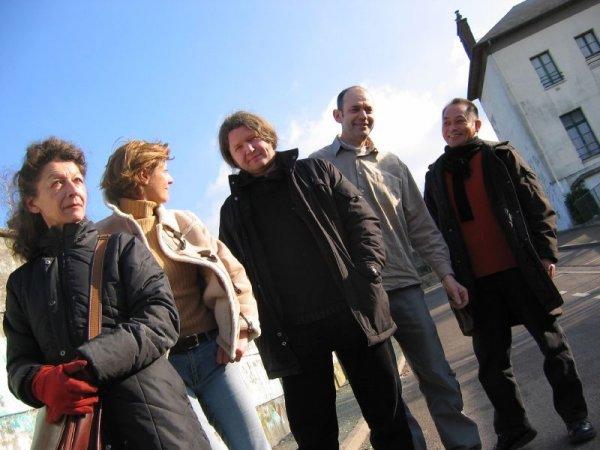 Les cinq sculpteurs d'Art'hieul 2005