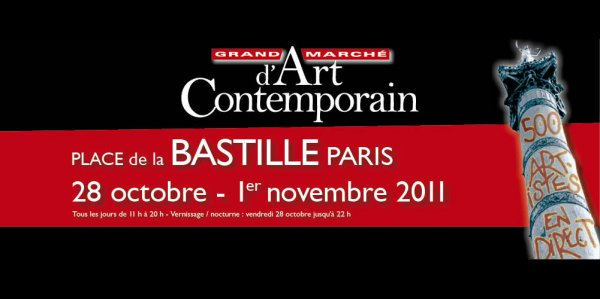 Gmac la bastille (paris) du 28 octobre au 1er novembre 2011