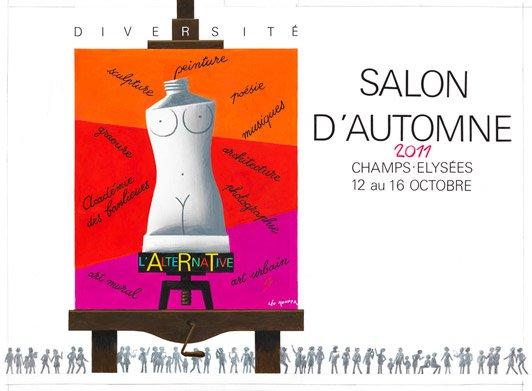 Salon d'automne 12 au 16 octobre 2011
