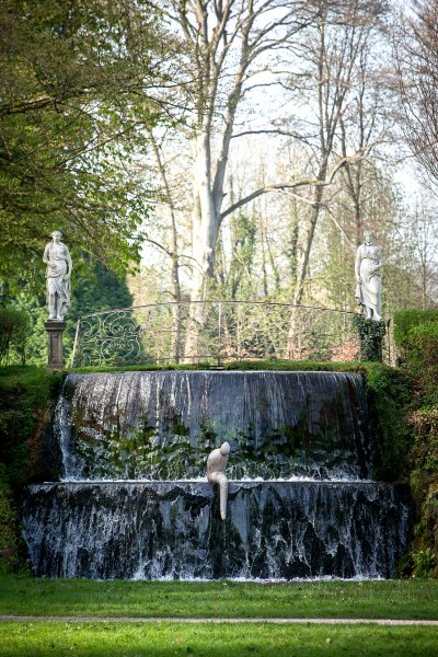 Robert Arnoux est l'invité des prestigieux Jardins d'eau XVIIIè d'Annevoie
