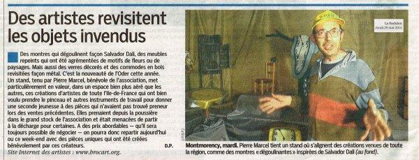 Article Le Parisien 95, le 29 mai 2014