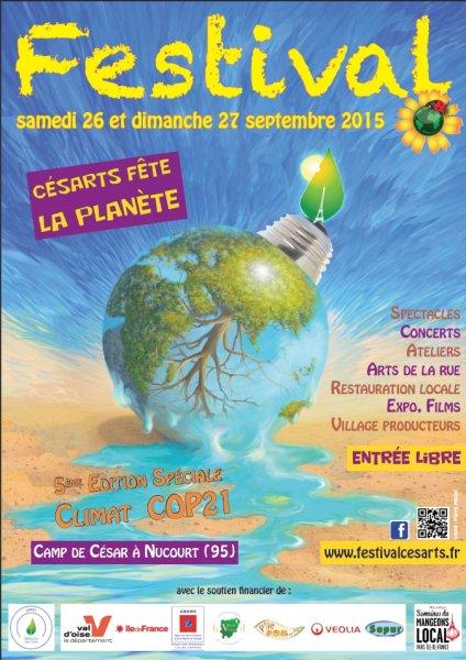 Affiche Festival Cesarts 2015