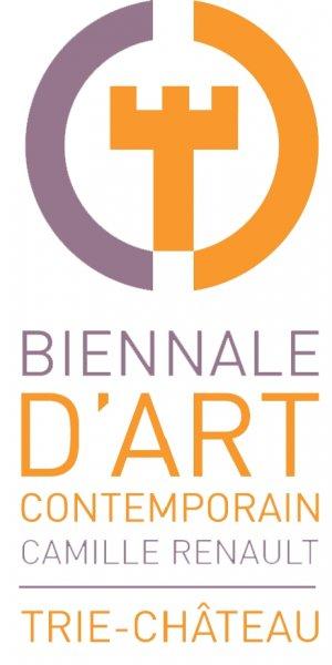 Logo de La Biennale d'Art Contemporain Camille Renault Trie Château