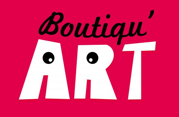 Logo Boutiqu'Art de l'association d'artistes Plein Ph'Art