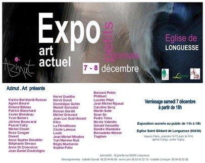 Affiche exposition décembre 2013