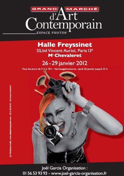 Grand marché d'art contemporain de la halle freyssinet